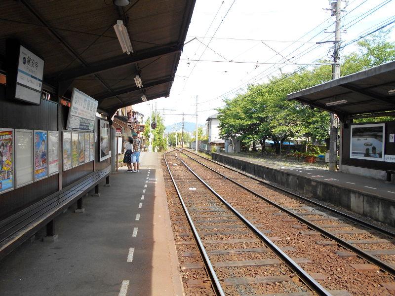 京都・嵐電に乗って龍安寺2017-2015
