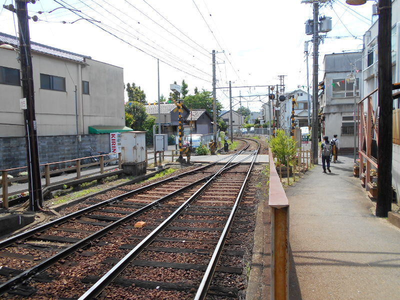 京都・嵐電に乗って龍安寺2017-2016