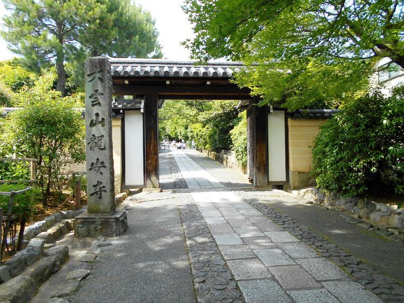 京都・嵐電に乗って龍安寺2017-2018
