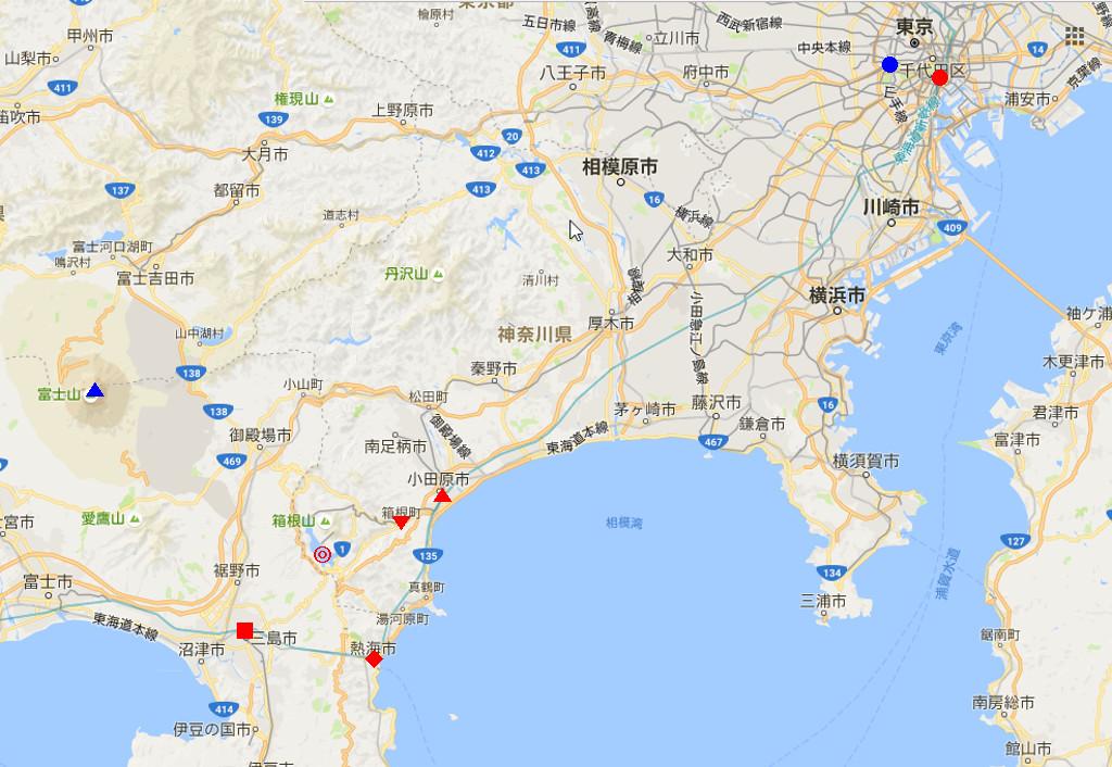 箱根・芦ノ湖ドライブ2016秋その1・三島から箱根へ-4102