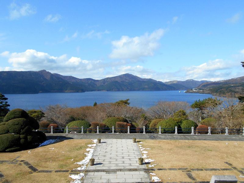 箱根・芦ノ湖ドライブ2016秋その2・湖畔展望館-4203