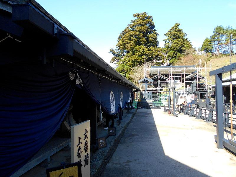 箱根・芦ノ湖ドライブ2016秋その3・箱根関所-4305
