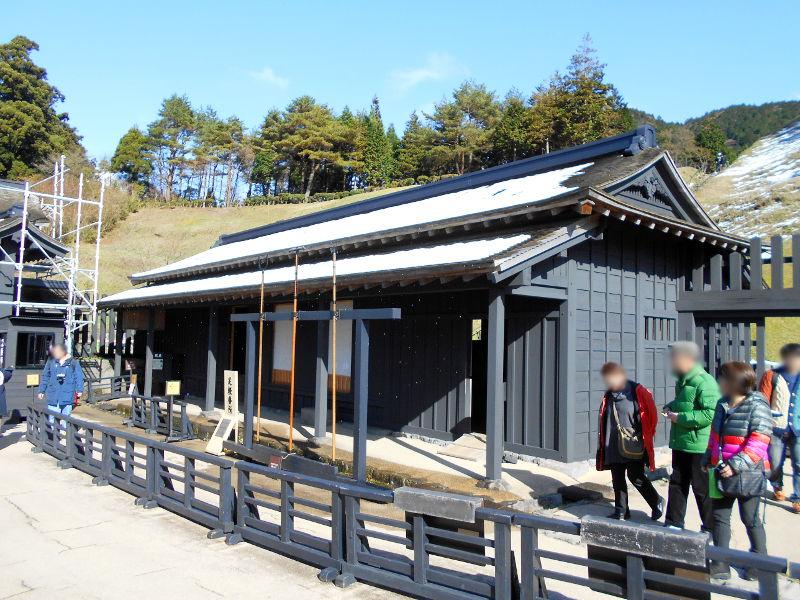 箱根・芦ノ湖ドライブ2016秋その3・箱根関所-4309