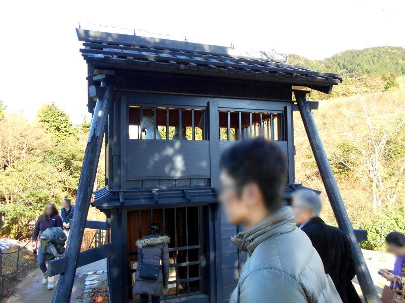 箱根・芦ノ湖ドライブ2016秋その3・箱根関所-4314