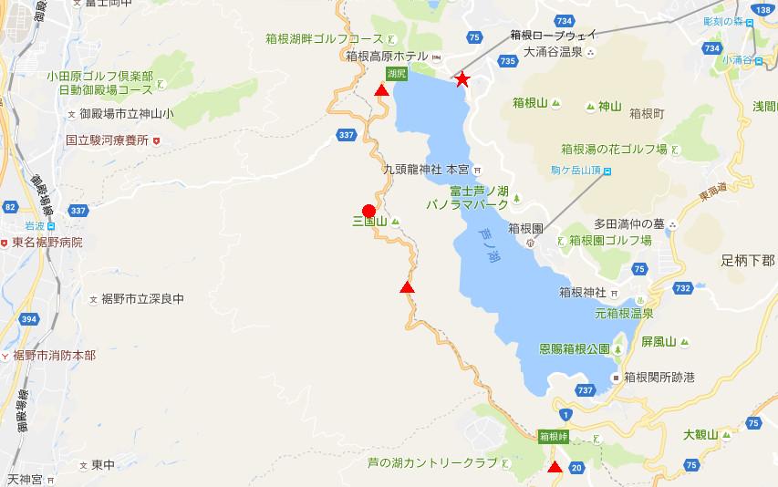 箱根・芦ノ湖ドライブ2016秋その5・夕暮れの富士山-4501