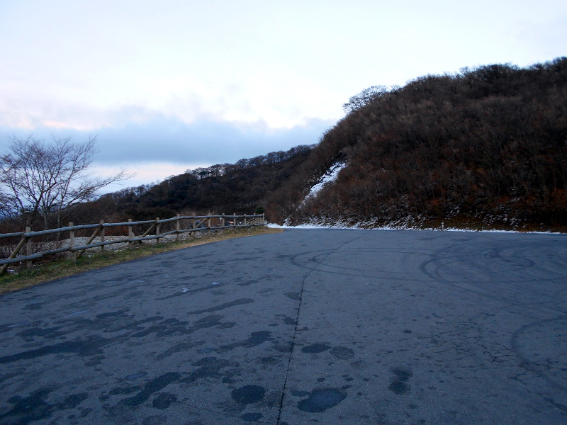 箱根・芦ノ湖ドライブ2016秋その5・夕暮れの富士山-4502