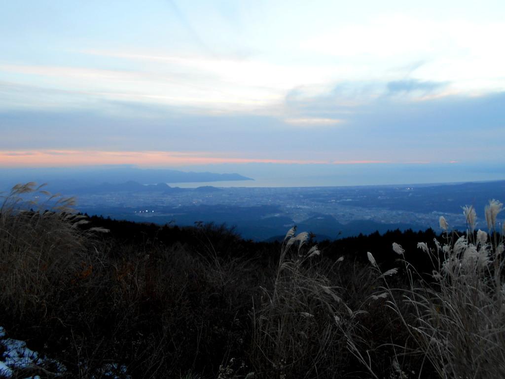 箱根・芦ノ湖ドライブ2016秋その5・夕暮れの富士山-4504