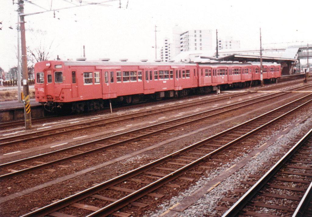 八高線拝島駅1986-3001