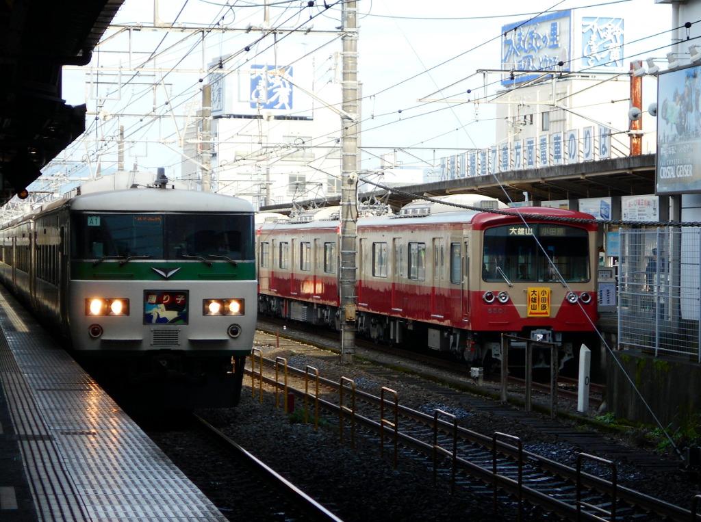 伊豆箱根鉄道大雄山線・赤電2016-5501