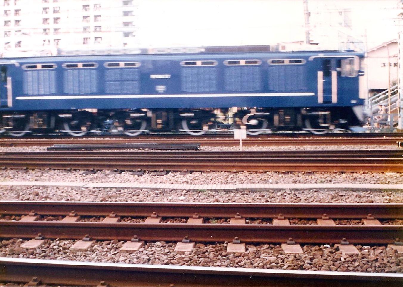 かいじ国体・撮り損ねたお召列車1986-6402
