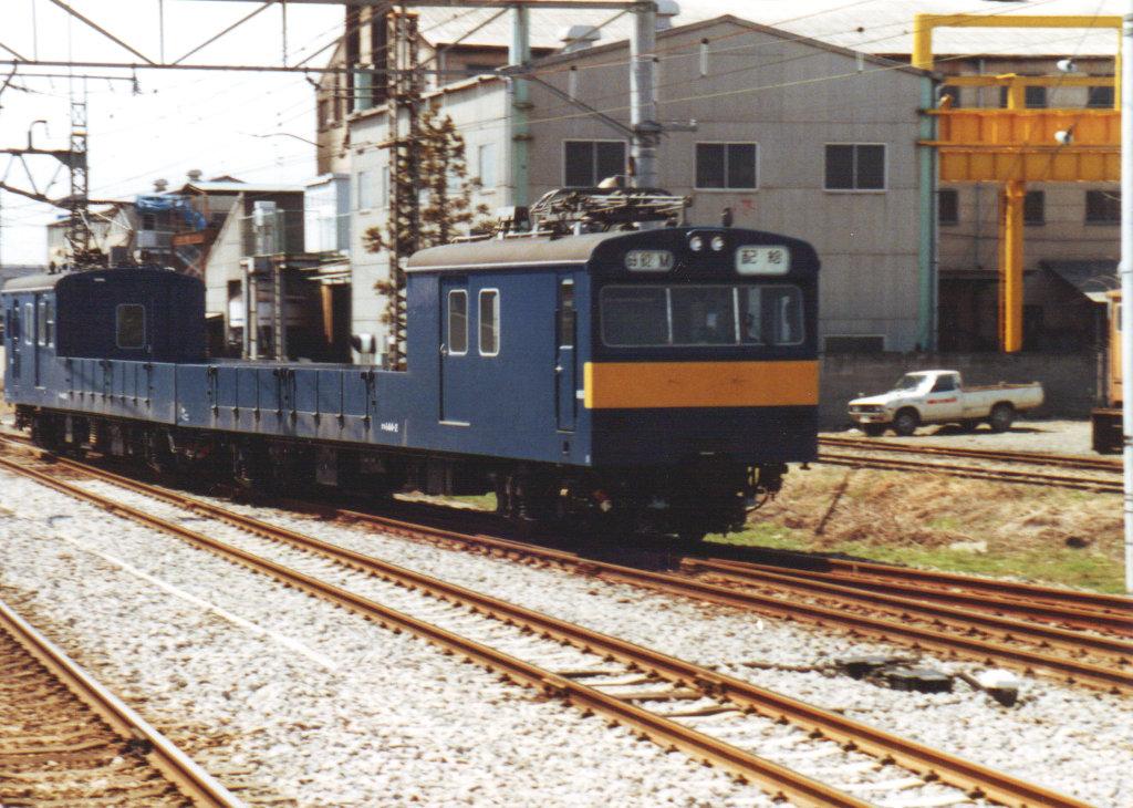 国鉄・配給電車クモル145-1452