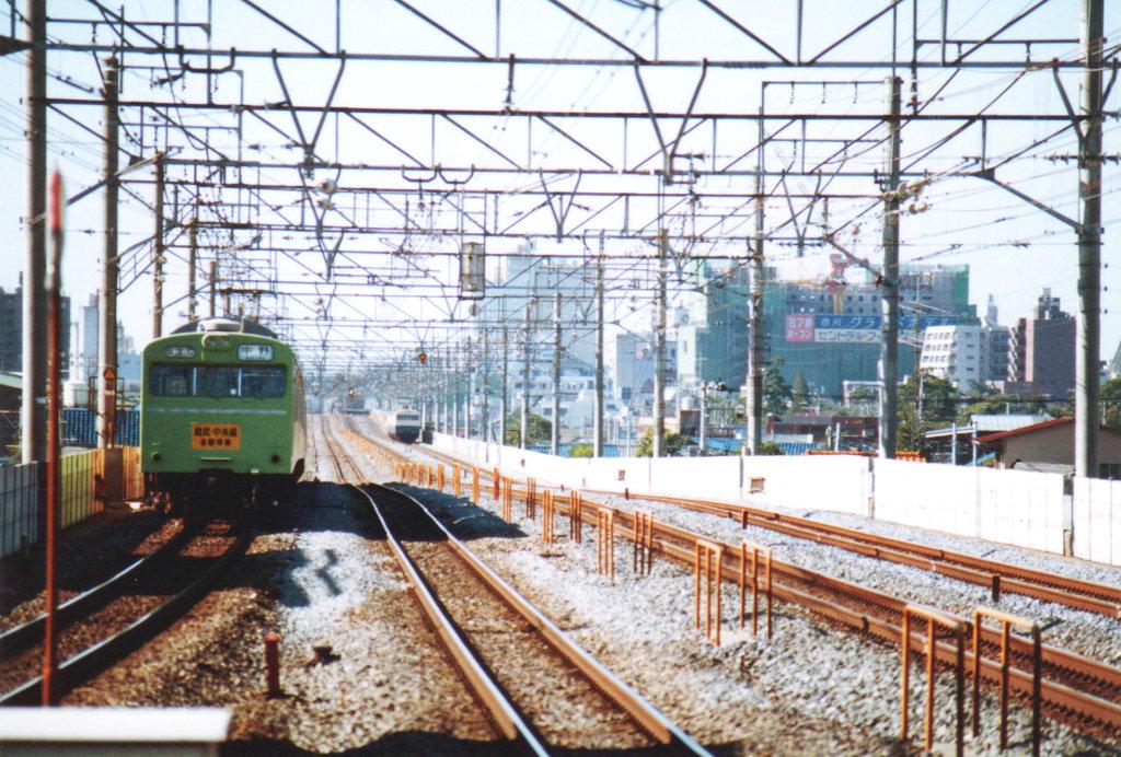 国鉄・総武本線クモユニ74と103系1980年代-1002