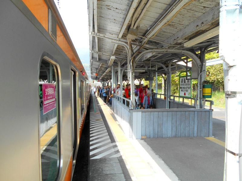 奥多摩の旅2015その1・ホリデー快速と奥多摩駅-2105