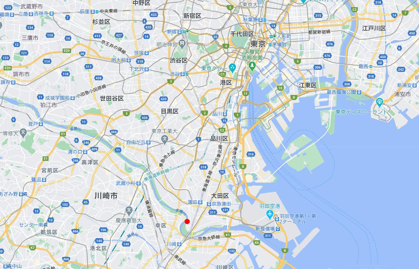 東京都の端っこで優雅なランチ・六郷土手2020秋-1001