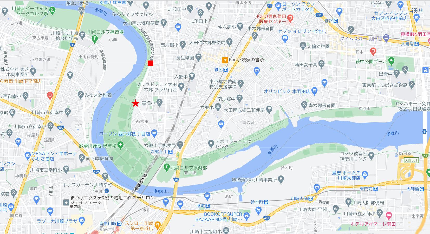 東京都の端っこで優雅なランチ・六郷土手2020秋-1002