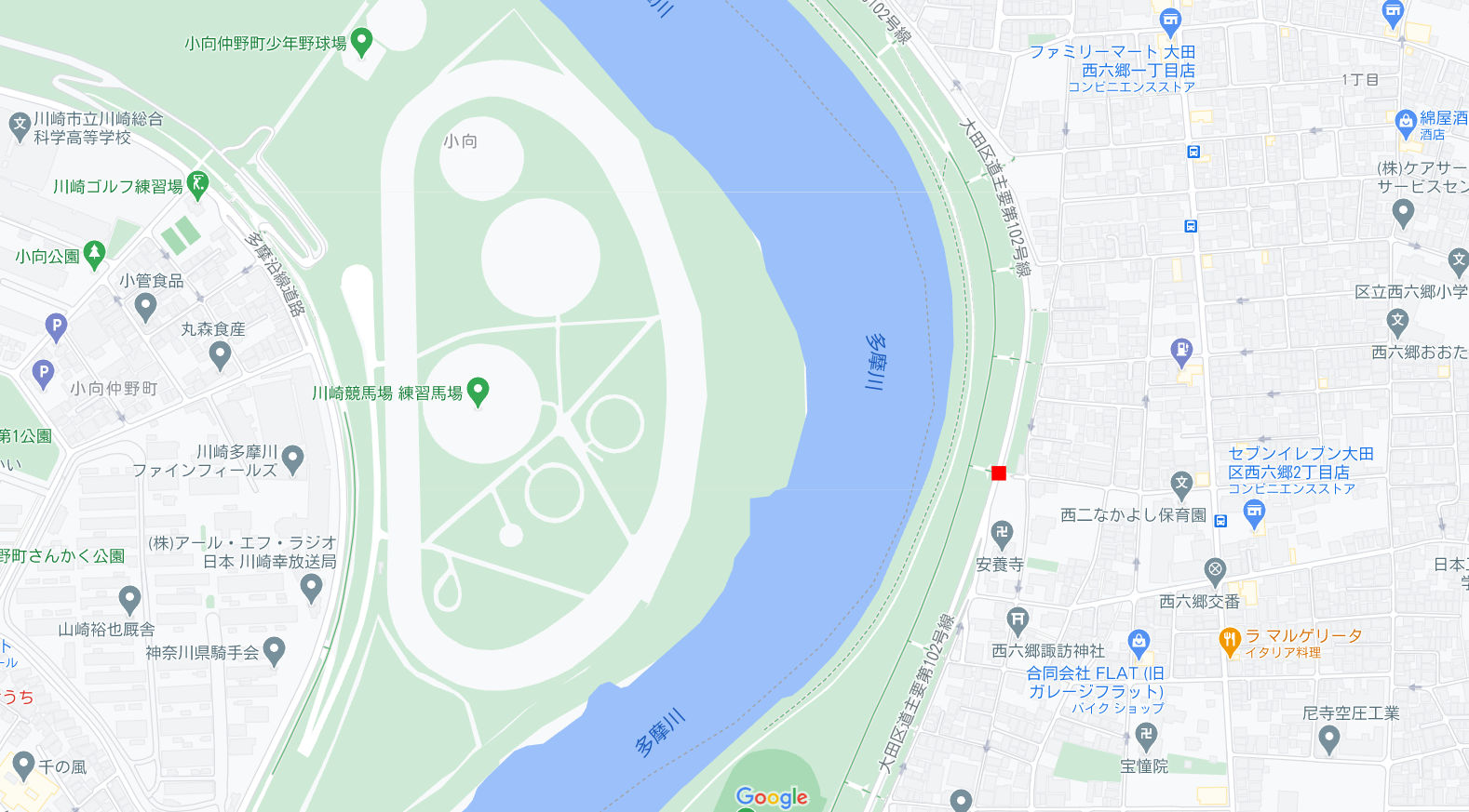 東京都の端っこで優雅なランチ・六郷土手2020秋-1006