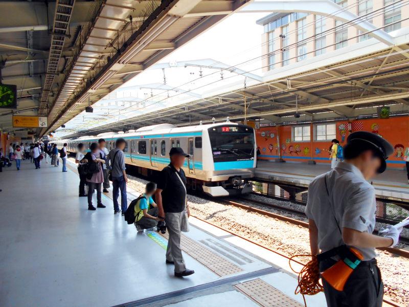 横浜Y156記念列車583系2015その1-5109