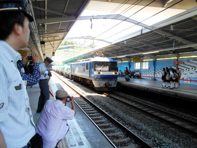 横浜Y156記念列車583系2015その1-5113
