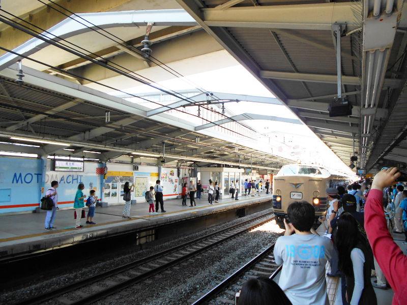 横浜Y156記念列車583系2015その1-5115