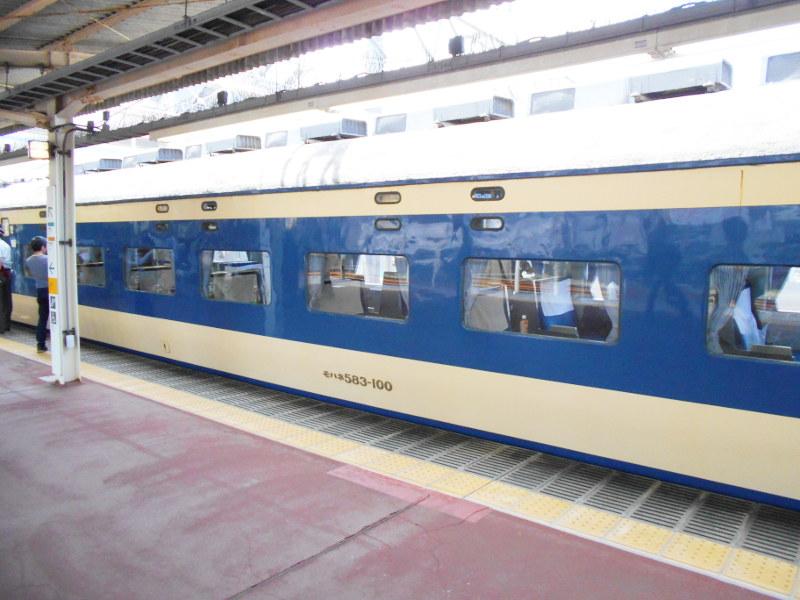 横浜Y156記念列車583系2015その2-5211