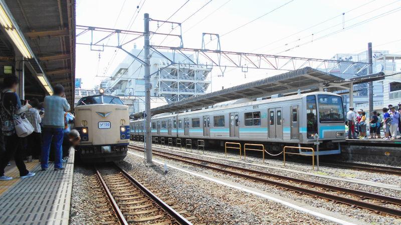 横浜Y156記念列車583系2015その2-5218