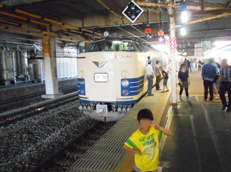 横浜Y156記念列車583系2015その2-5221