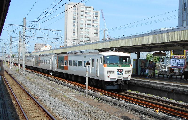 横浜Y156記念列車583系2015その3-5302