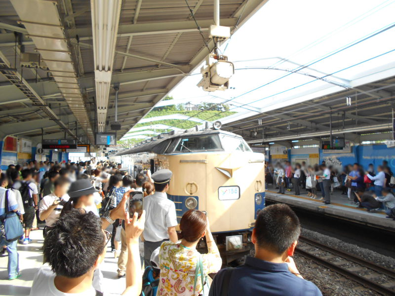 横浜Y156記念列車583系2015その3-5325