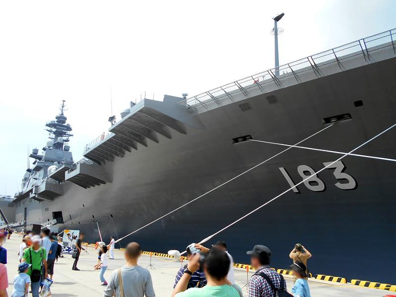 よこすかYYのりものフェスタ2015その2・護衛艦いずも-1618