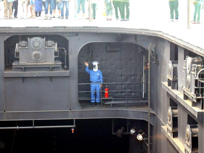 よこすかYYのりものフェスタ2015その2・護衛艦いずも-1628