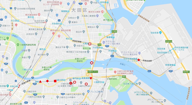京浜急行大師線・リバーサイドハツモーデ2011新春-1201