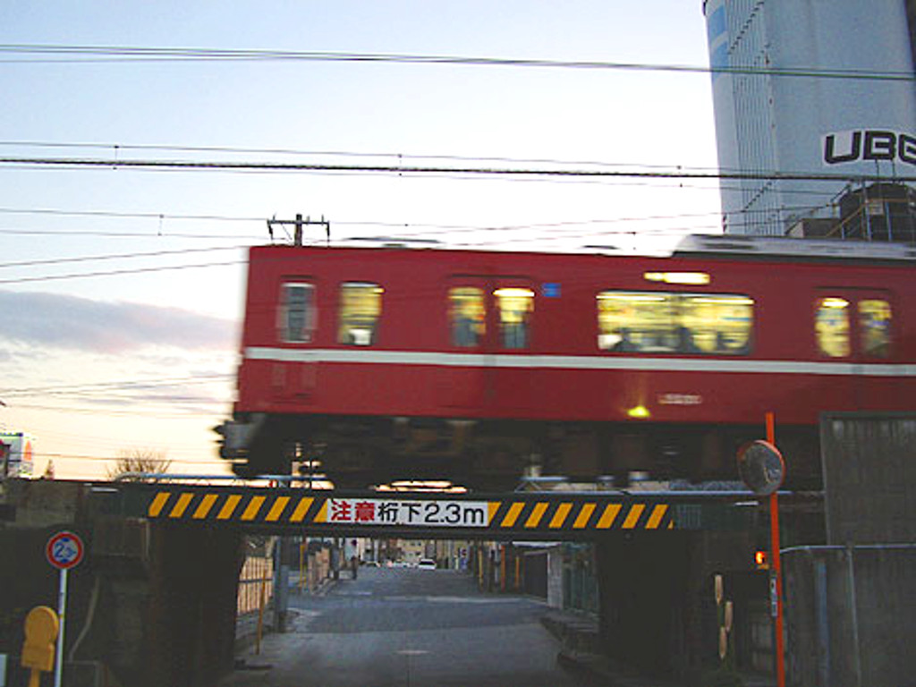 京浜急行大師線・リバーサイドハツモーデ2011新春-1219