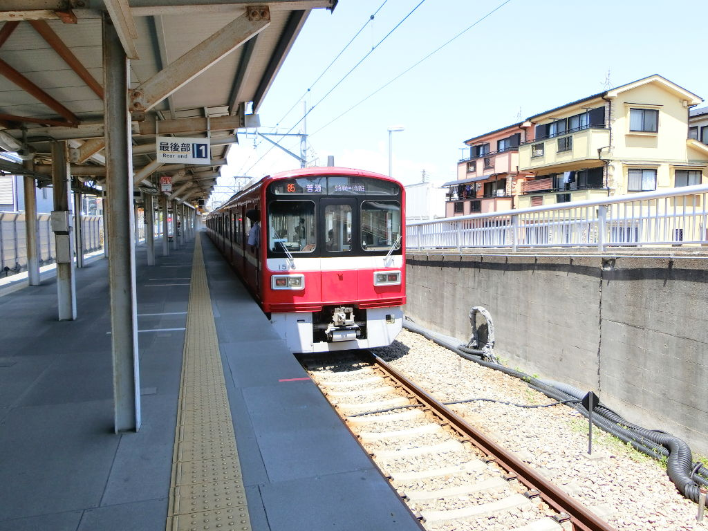 京浜急行大師線を歩く。その1・小島新田駅と川崎貨物駅2018夏-1105
