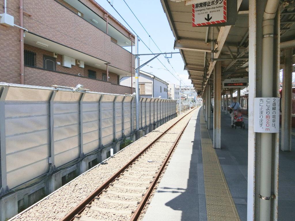 京浜急行大師線を歩く。その1・小島新田駅と川崎貨物駅2018夏-1106