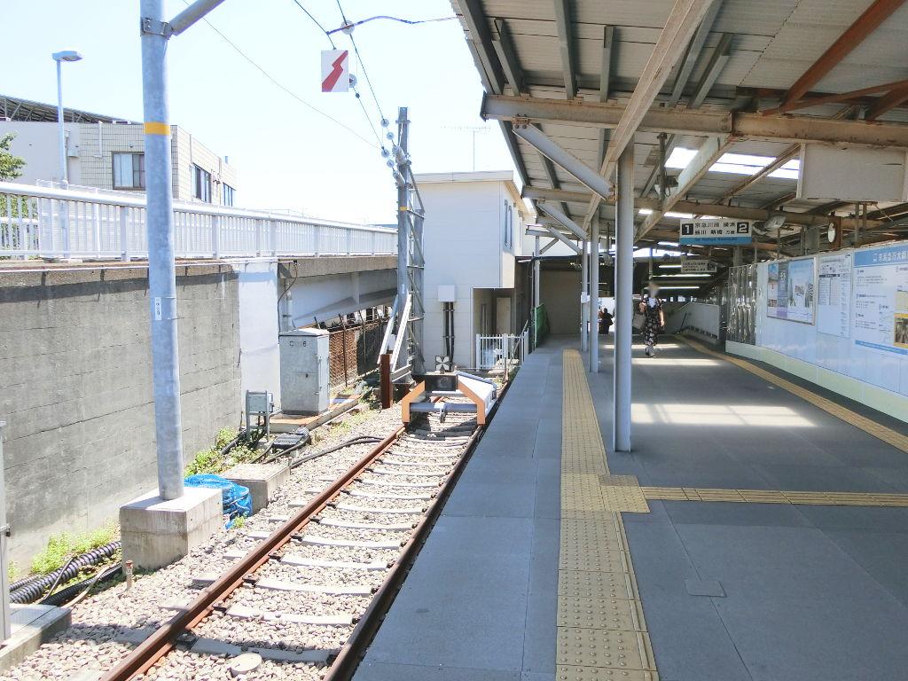 京浜急行大師線を歩く。その1・小島新田駅と川崎貨物駅2018夏-1107