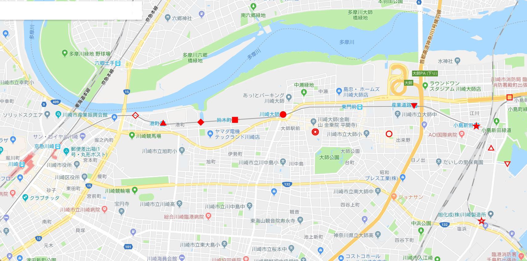 京浜急行大師線を歩く。その1・小島新田駅と川崎貨物駅2018夏-1109