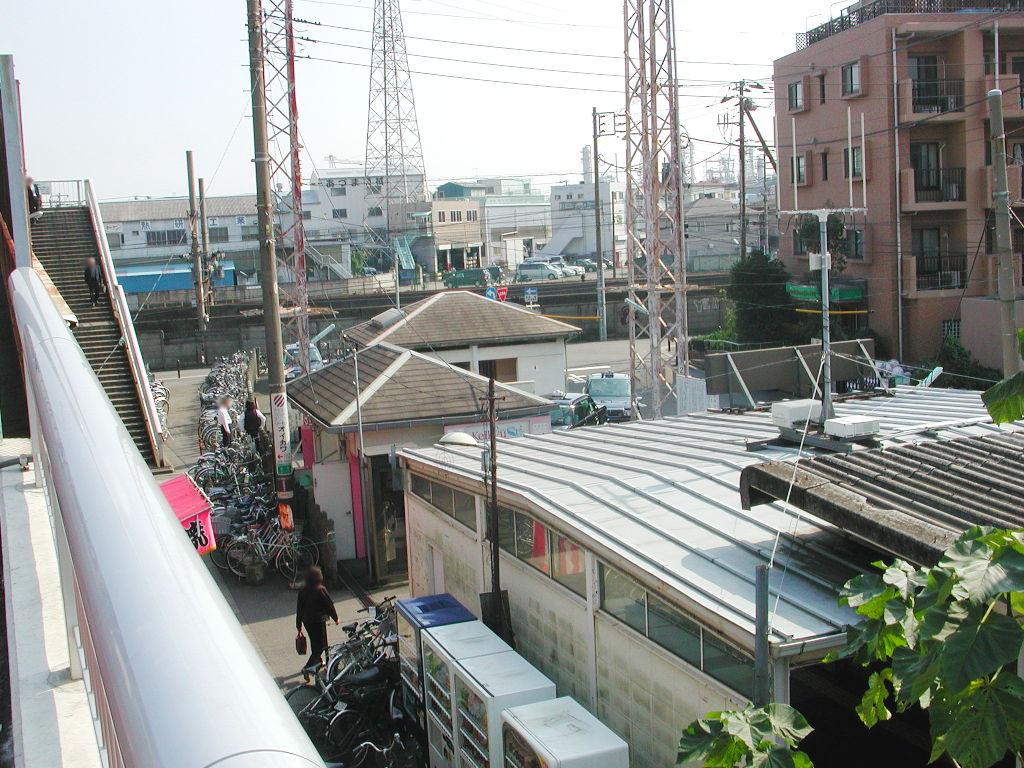 京浜急行大師線を歩く。その1・小島新田駅と川崎貨物駅2018夏-1110