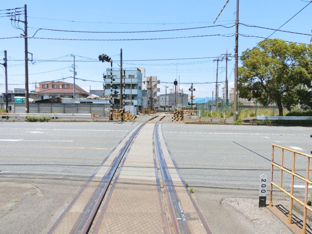 京浜急行大師線を歩く。その1・小島新田駅と川崎貨物駅2018夏-1120