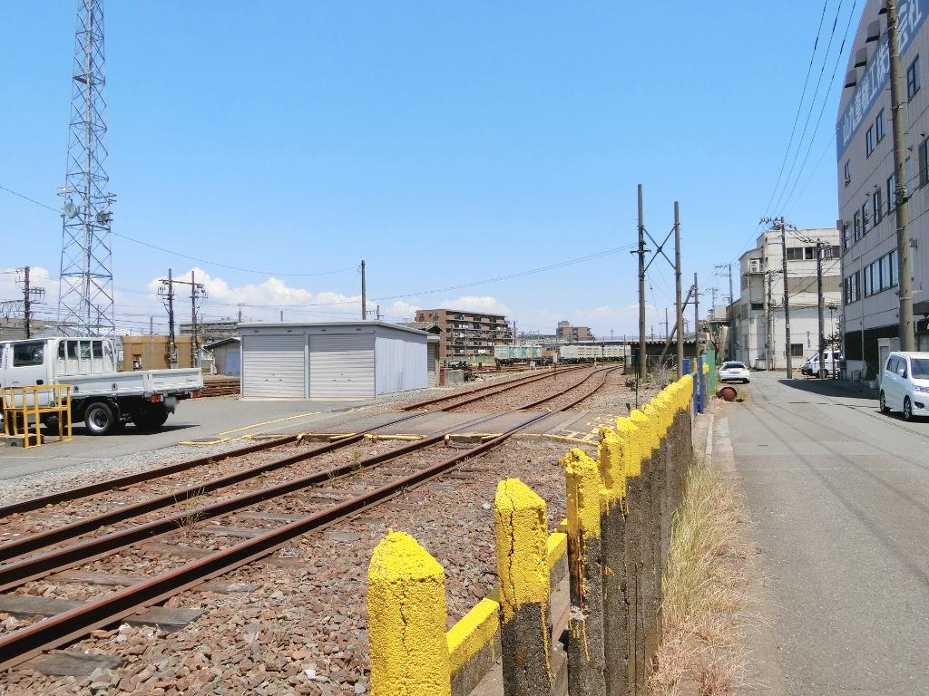 京浜急行大師線を歩く。その1・小島新田駅と川崎貨物駅2018夏-1128