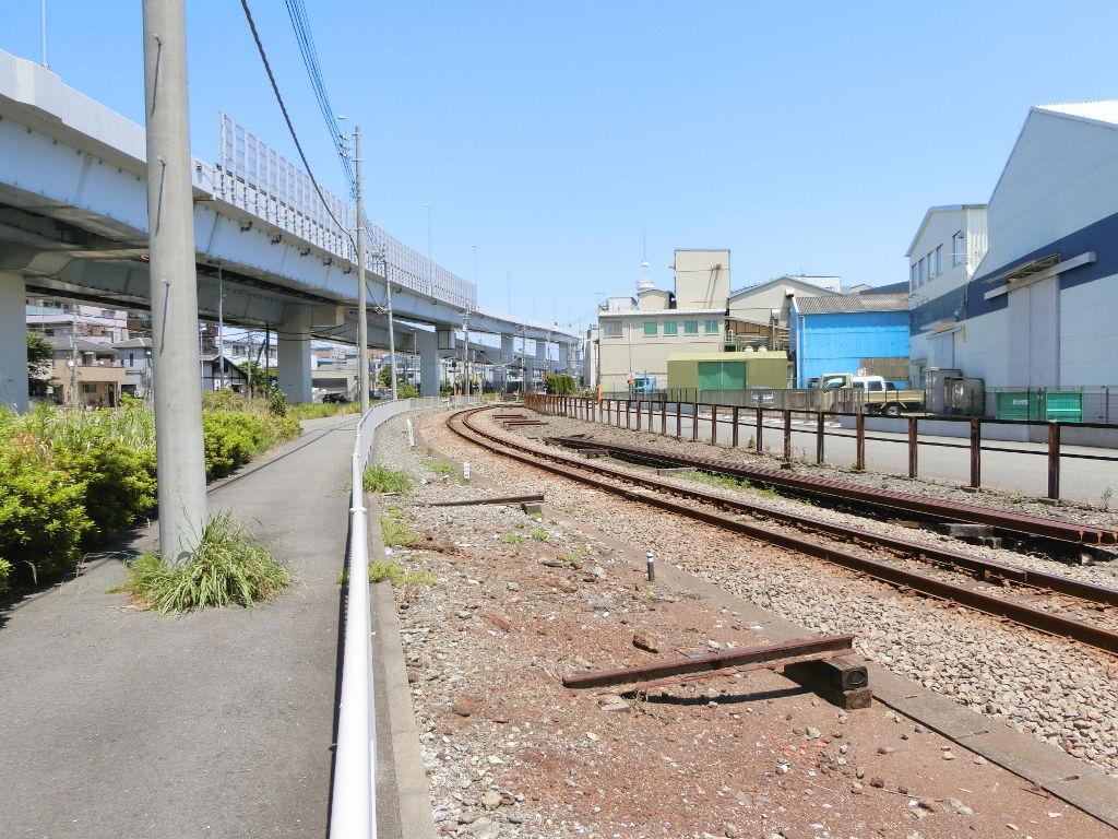 京浜急行大師線を歩く。その1・小島新田駅と川崎貨物駅2018夏-1129