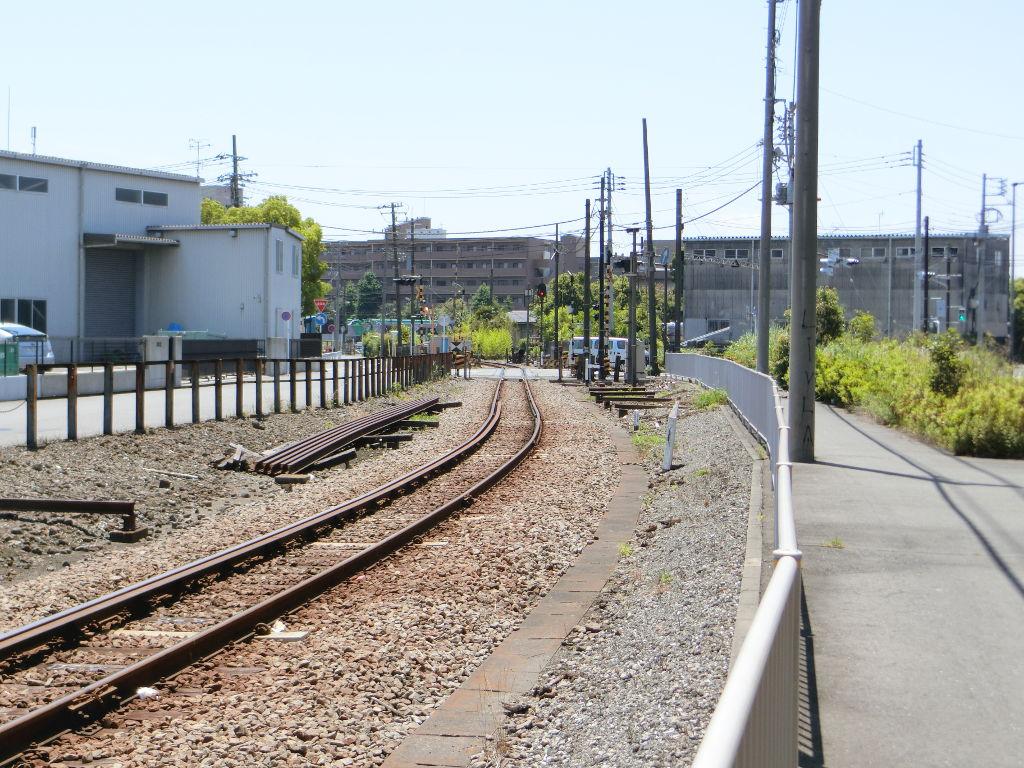 京浜急行大師線を歩く。その1・小島新田駅と川崎貨物駅2018夏-1131