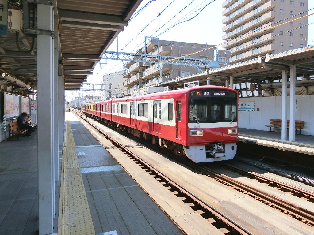 京浜急行大師線を歩く。その2・産業道路駅2018夏-1210