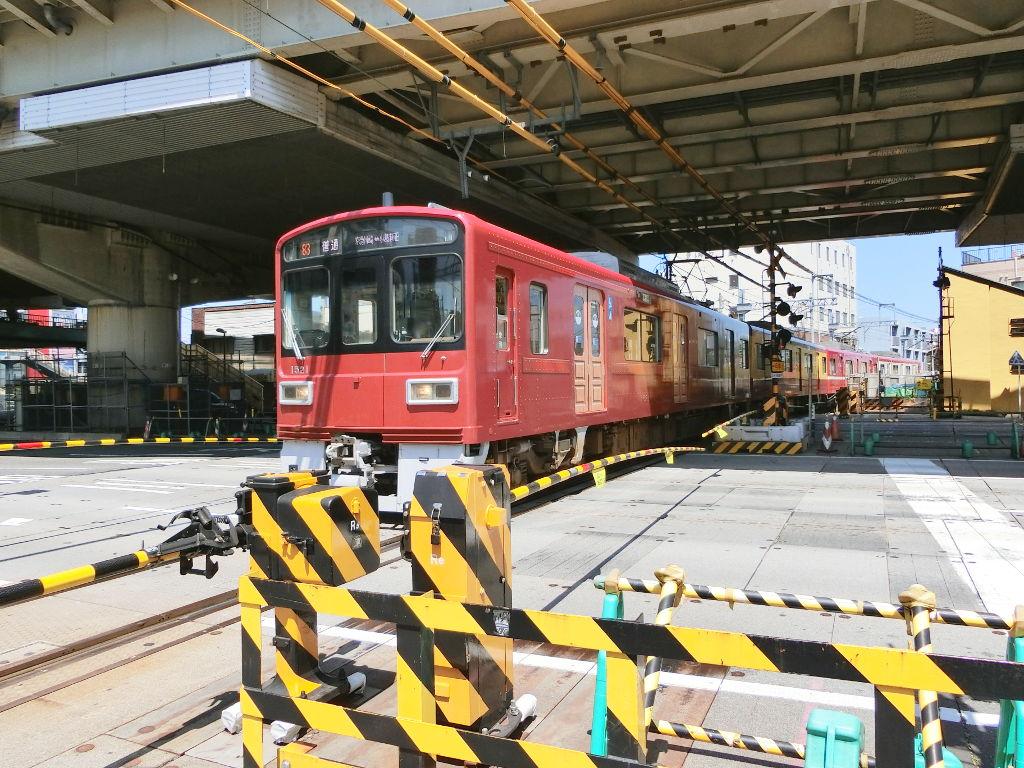 京浜急行大師線を歩く。その2・産業道路駅2018夏-1218
