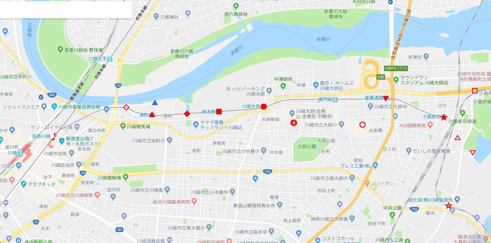 京浜急行大師線を歩く。その5・港町駅から川崎駅へ2018夏-1501