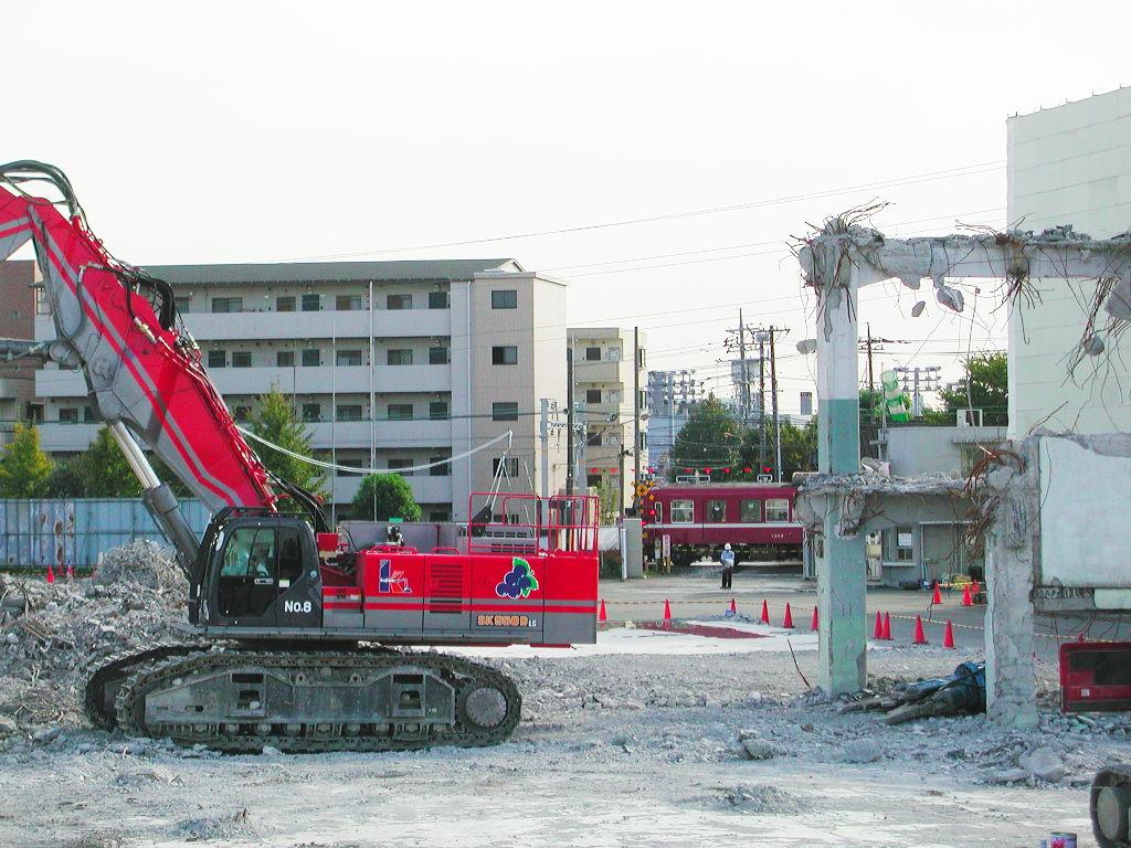 京浜急行大師線を歩く。その5・港町駅から川崎駅へ2018夏-1505