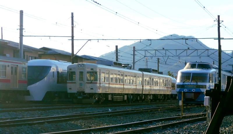 河口湖駅2015-7104