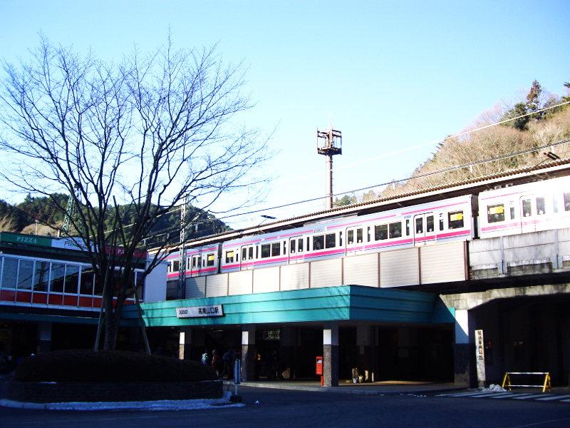 東京・冬の高尾山2013-7001