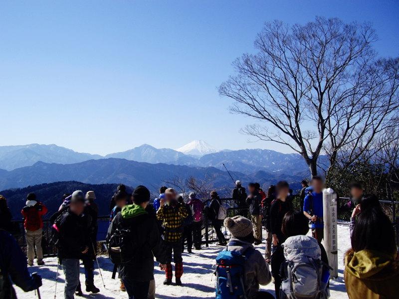 東京・冬の高尾山2013-7014