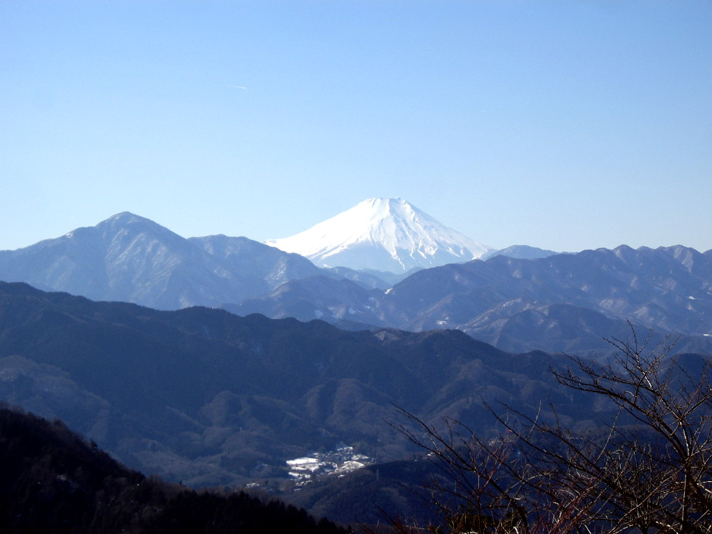 東京・冬の高尾山2013-7015