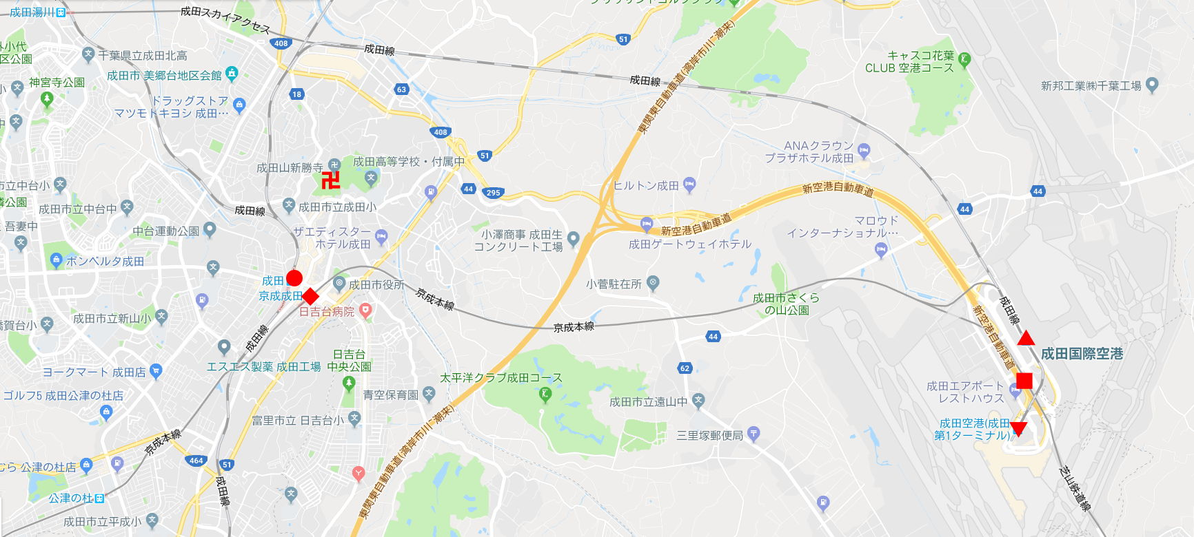 京成・東成田駅2010-1101